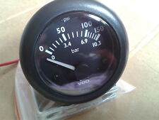 VDO  oil pressure gauge + vdo voltage gauge
