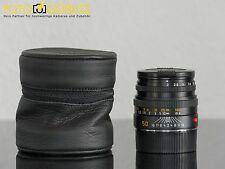 Leica M 50mm 2.0 Summicron 6bit schwarz 11826