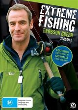 Extreme Fishing With Robson Green : Season 2 (DVD, 2 Disc Set)~ NEW & SEALED
