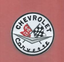 NEW 3 INCH CHEVROLET CORVETTE IRON ON PATCH FREE SHIPPING