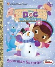 Snowman Surprise (Disney Junior: Doc McStuffins) (Little Golden Book) Posner-Sa