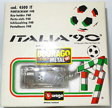 CARS : ITALIA 90 FERRARI METAL KEY RING MADE BY BURAGO (MLFP)