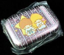 VTG SANRIO (LITTLE TWIN STARS) ❤︎ MINI TRINKET TIN PILL BOX ❤︎ NEW KAWAII '04