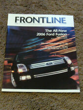 Ford Frontline Magazine June July 2005 2006 Fusion Harley Davidson F150 Five Hun