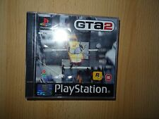 Grand Theft Auto 2 PS1 - Original Black Label - Brand New - Playstation 1 Sealed