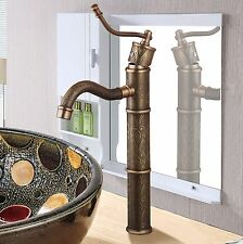 High quality bathroom brass antique bronze style sink basin faucet mixer tap