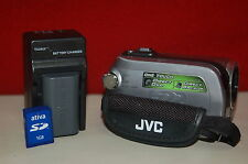 JVC Everio GZMG130 30GB HDD & SD Camcorder - 34x Optical Zoom  #4481