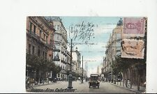 B79061 buenos aires calle callao car  argentina scan front/back image