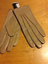 Polo Ralph Lauren Beige  Leather Gloves #238 Size Medium