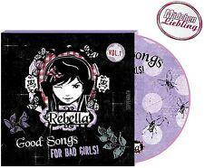 REBELLA Good Songs For Bad Girls! CD für Mädchen mit Poster von Spiegelburg™ NEU