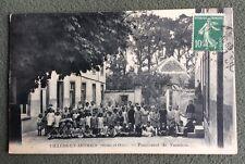 CPA. VILLERS EN ARTHIES. 95 - Pensionnat de Vacances. Enfants. 1915?