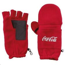 COCA COLA COKE FINGERLESS FLEECE MITTENS GLOVES  NEW!