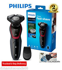PHILIPS s5130 Series 5000 MEN'S Dry Rasoio Elettrico Trimmer CORDLESS & Lavabile