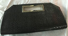 Express  Sexy Black Large Clutch