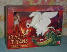 vintage CLASH OF THE TITANS PERSEUS & PEGASUS MIB MISB new/sealed in box