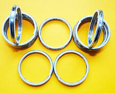 ALLOY EXHAUST GASKETS SEAL HEADER GASKET RINGS SUZUKI DR600 1985-1989 DR   A38