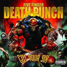 Got Your Six - Five Finger Death Punch  Exp (CD Used Very Good) Explicit Version
