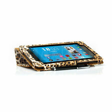 PU LEATHER LEOPARD CASE COVER FOR GOOGLE NEXUS 7 2ND ANIMAL PRINT + SCREEN GUARD