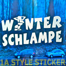 Winterschlampe 30 cm GROß ! dub oem the shocker haters jdm winterreifen