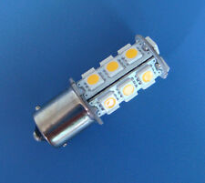 1x BA15S 1156 1141 LED Car Internal light bulb 18-5050 SMD 12V, Warm White  #18B