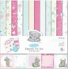 "Docraft ""especialmente para ti' Me To You Tatty Teddy papel del forro Pack 8 x 8"" 26 Pk"