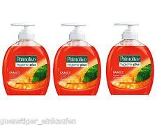 3x 300ml Palmolive hygiène plus famille Savon liquide Protection bactérienne
