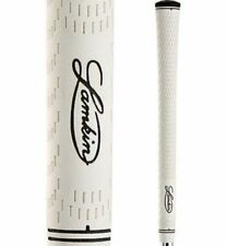 13 NEW Lamkin PERFORMANCE PLUS 3GEN - MIDSIZE White Golf Grip