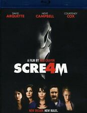 Scream 4 (2011, Blu-ray NEUF) BLU-RAY/WS