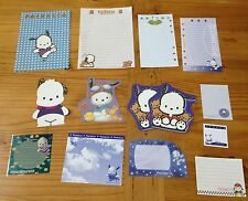 Sanrio POCHACCO Stationery / Stationary LOT MEMO Paper 14 Sheets