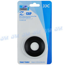 JJC Auto Open Lens Cap for Olympus M.ZUIKO DIGITAL ED 14-42mm f/3.5-5.6 EZ Black