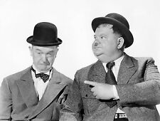 A3 SIZE - Laurel and Hardy 30 Black & White Print GIFT / WALL DECOR POSTER