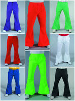 """70's Gentleman's Flared Trousers - 28-44"""" waist , 8 color options"""