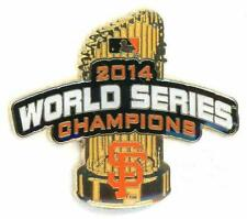SF Giants 2014 World Series Champions Trophy Pin LE 250 Champs san francisco psg