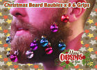 Christmas Secret Santa Mens Novelty Xmas Present Baubles For Beards Decorations