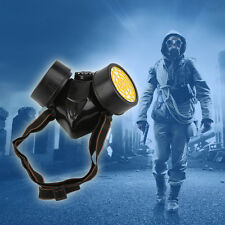 Emergency Survival Safety Respiratory Gas Mask With 2 Dual Protection Filter LO
