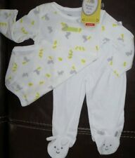 Carters Precious Firsts Baby Easter 2 Piece Sleep & Playwear Size 6 Months NWT