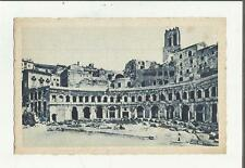 83965 ANTICA CARTOLINA DI ROMA MERCATI TRAIANEI