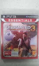 uncharted 3 drake's deception ps3 new