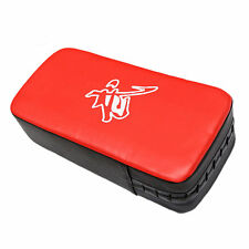 Leather PU Martial Art Taekwondo MMA Boxing Kicking Punching Foot Target Pad IY