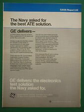 10/1986 PUB GENERAL ELECTRIC CASS 2 US NAVY ELECTRONICS AUTOMATED TESTING AD