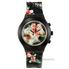 Swatch Uhr Irony Diaphane Chrono FLOWER BREEZE  NEU UND OVP - SVCF4002AG