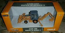 New 1/50 ERTL CASE 580 SUPER M SERIES 2 DIE CAST Metal TRUCK Model 14394