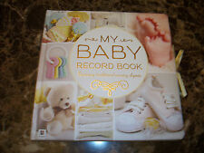 NEW my baby record / memory keepsake  hardcover book w/ nursery rhymes