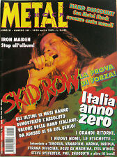 METAL SHOCK 190 1995 Skidrow Timoria Strana Officina Vanadium Shoggoth Rapsodia