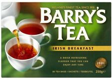 Barry's Irish breakfast les sachets de thé 80 dans le monde de la Grande-Bretagne UK