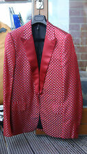 DIOR HOMME by Hedi Slimane. RED size 46. blazer / suit jacket / 2006 / 06 / XS-S