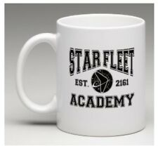 Star Trek Star Fleet Academy Coffee Tea White Porcelain Mug Sci-fi Gifts Novelty