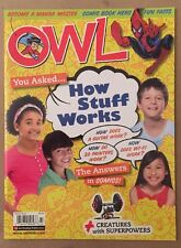 Owl Manga Master How Stuff Works Creatures Superpowers Mar 2015 FREE SHIPPING