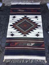 New Anthropologie Urban Outfitters Navajo Wool Rug 6' X 3' Enjoy!