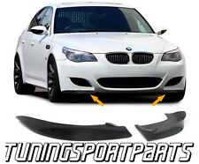 CARBON FLAPS BUMPER FOR BMW E60 E61 03-07 SERIES 5 M-PACKET BODY KIT SPOILER NEW
